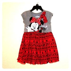 Toddler Girl's Minnie Mouse Dress